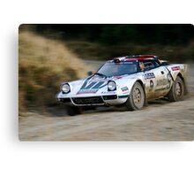 Lancia Stratos HF Rally Car 2 Canvas Print