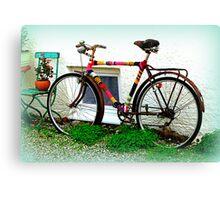 Bike Art Canvas Print
