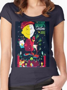 Charlie Christmas Women's Fitted Scoop T-Shirt