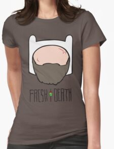 Fresh to Death Seasoned Adventurer  Womens Fitted T-Shirt