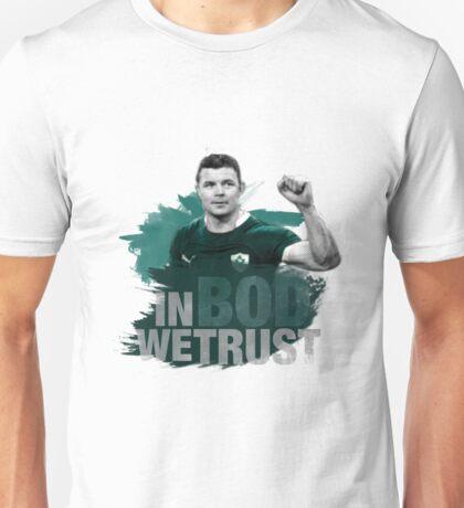 "Brian O'Driscoll | ""In BOD we trust."" Unisex T-Shirt"