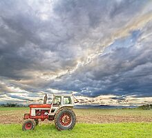 Turbo Tractor Country Evening Skies by Bo Insogna