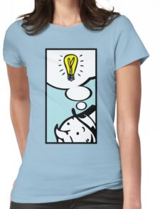 Moneybag's Bright Idea Womens Fitted T-Shirt