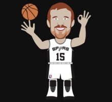 NBAToon of Matt Bonner, player of San Antonio Spurs by D4RK0