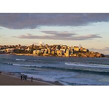 Sunset on Bondi Beach Photographic Print