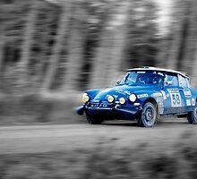 Citroen SM Bandama Rally Car(splash of colour) by Thomas Gelder