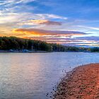 Dusk on Smith Mountain Lake by RedskinzFan