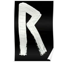 Medieval Runes 019 R Inverted Poster