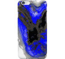 Black and Blue phoenix iPhone Case/Skin