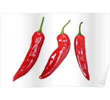 Red Hot Chillies peppers Poster