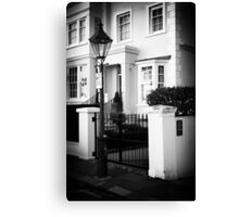 Street of London Canvas Print
