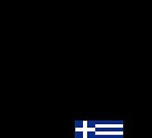 Black iPhone case - Greece by Lee Eyre
