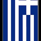 IPhone case Greek Flag Version 2.0 by Lee Eyre