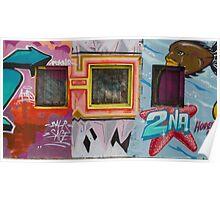 Street art in Bondi Poster