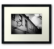 Time counter Framed Print