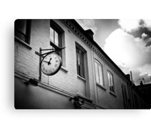 Time counter Canvas Print