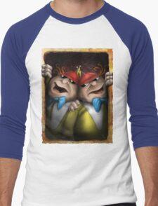 tweedle dum and dumber Men's Baseball ¾ T-Shirt