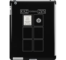 Tardis Impala iPad Case/Skin