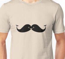 Kawaii Mustache or Cute Whales? Unisex T-Shirt