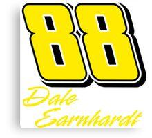 Dale Earnhardt Jr. 88 Canvas Print