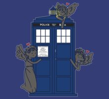 The Angels Have The TARDIS by hellyhere