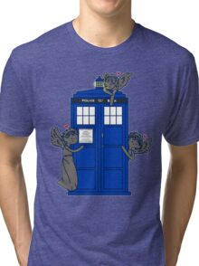 The Angels Have The TARDIS Tri-blend T-Shirt