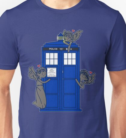 The Angels Have The TARDIS Unisex T-Shirt