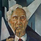 Bertrand Russell by Renee Bolinger