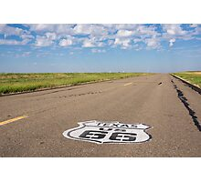 Route 66 road  Photographic Print