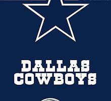 Dallas Cowboys - Football by WaraWiriBos