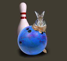 Bowling Bunny Rabbit Unisex T-Shirt