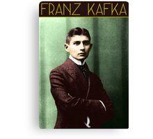 Franz Kafka (Colorized) Canvas Print