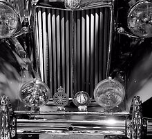 1953 MG TD by Bob Wall