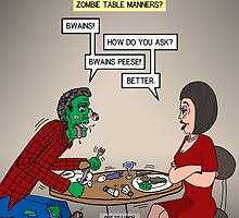 Zombie Table Manners by Rich Diesslin