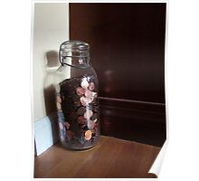 Giant Jar Of Lincolns Poster