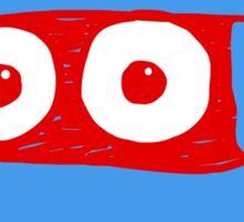 RED/BLUE MUM LOGO Sticker