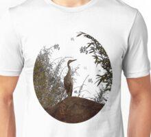 Kanji Crane Unisex T-Shirt