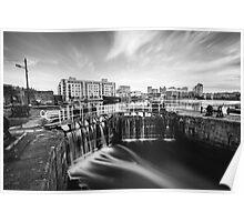 Grand Canal Dock, Dublin, Ireland Poster