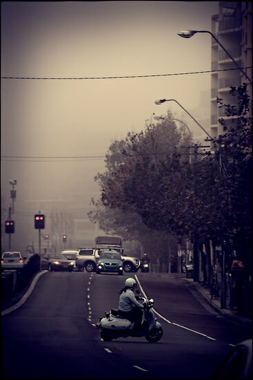 Morning traffic by andreisky