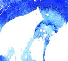 blue listen up tour Sticker