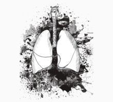 Between Two Lungs - Dark Version by Kaylen Lenore