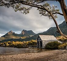 The Dove Lake Boathouse by Mieke Boynton