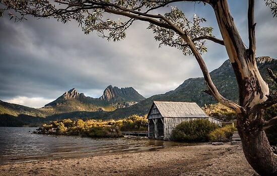 The Dove Lake Boathouse by Mieke Boynton