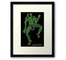 Dance Warrior IV Bird Dancer Framed Print