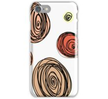 Floral Spiral Madness iPhone Case/Skin