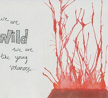 We Are Like Young Volcanoes by belindahigginsx