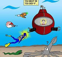 SCUBA Diving Too Deep by Rich Diesslin
