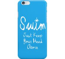 Surviving and Swimming iPhone Case/Skin