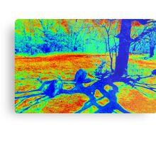 Heat Map Tree Metal Print