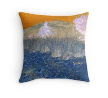 Mountain Bizarre Throw Pillow